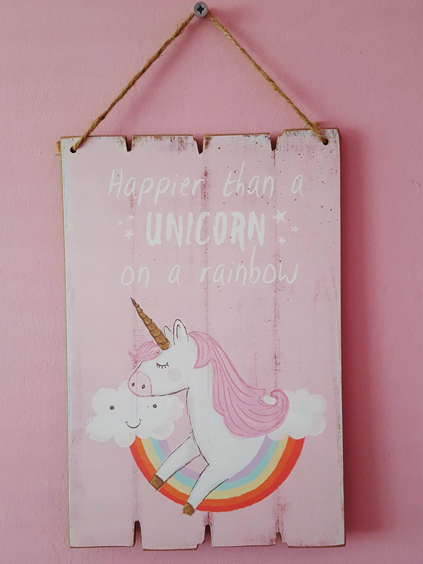 A Unicorn Bedroom The Hearty Life
